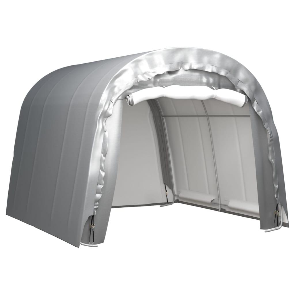 Opslagtent 300x300 cm staal grijs