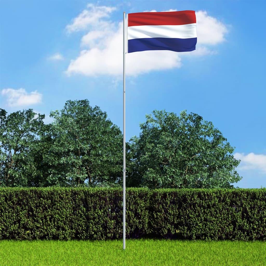 Hollandi lipp ja lipumast, a..