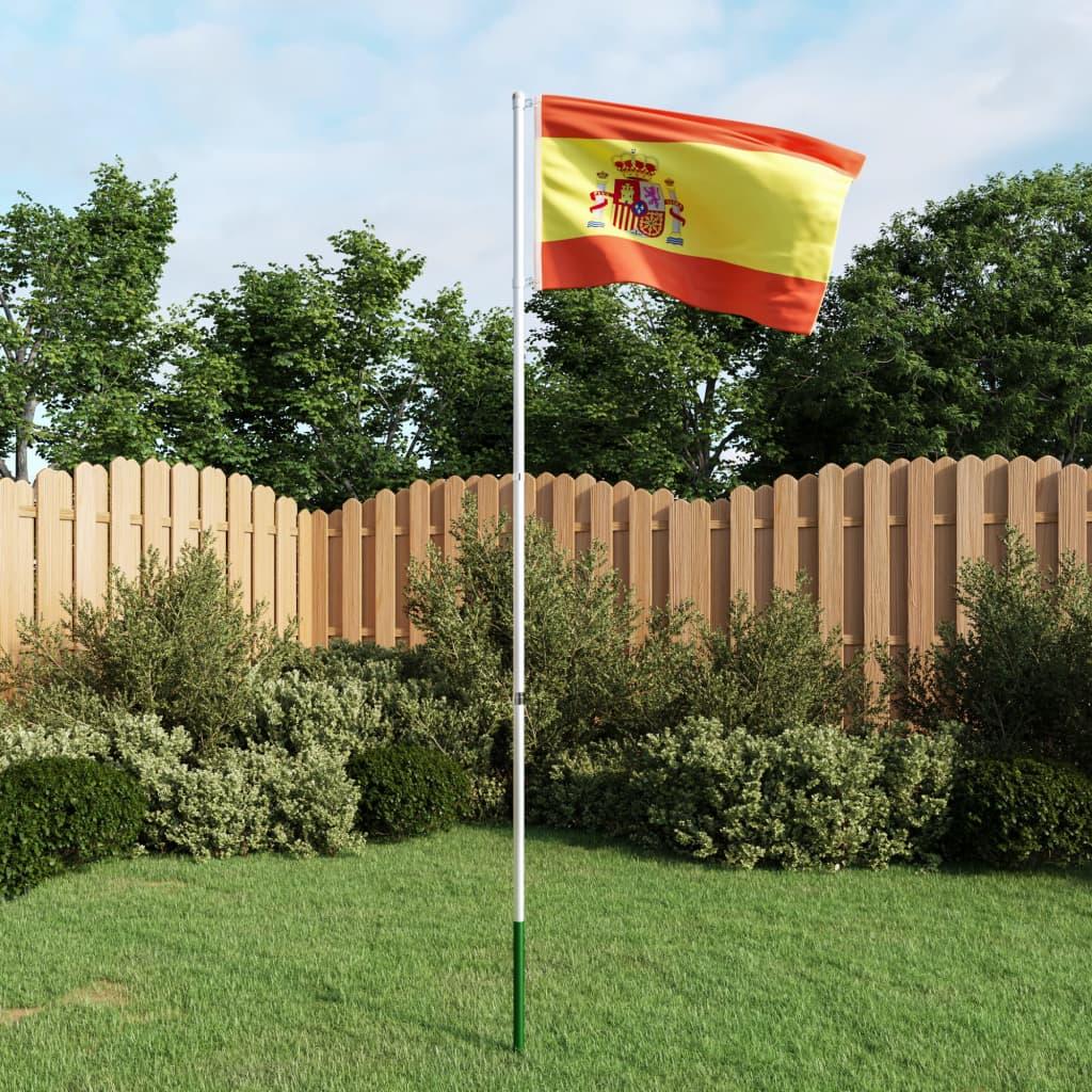 Hispaania lipp ja lipumast, ..