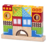 Wonderworld Blocs de construction Bois HOUT192410