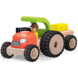 Wonderworld Mini Traktor Holz HOUT192421