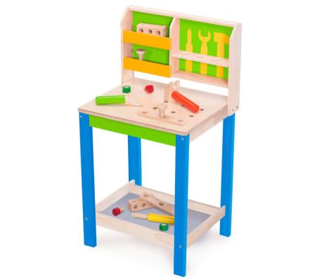 Wonderworld banco da lavoro attrezzi giocattolo legno for Banco da lavoro giocattolo ikea