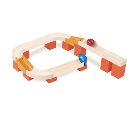 Wonderworld Murmelbahn Tracks and Ball Holz HOUT192447