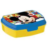 Boite à sandwich jaune et bleue Mickey Disney