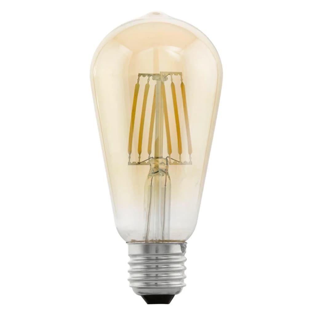 Afbeelding van EGLO led-lamp vintage look E27 ST64 amberkleurig 11521