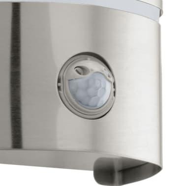 W Pared Sensor Lámpara 40 Con Exterior 30192 De Eglo Plateada Cerno zUpqSMV