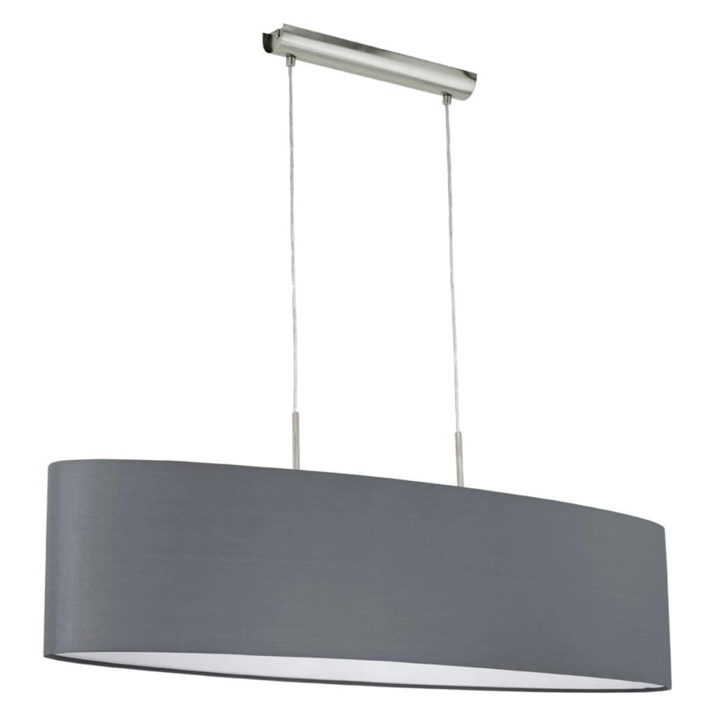 Lustră candelabru de plafon EGLO Pasteri 31586, gri poza vidaxl.ro