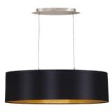 Lámpara colgante de techo, EGLO Maserlo 31611, 78 cm, Negro