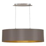 EGLO Viseča svetilka Maserlo 78 cm kapučino 31614