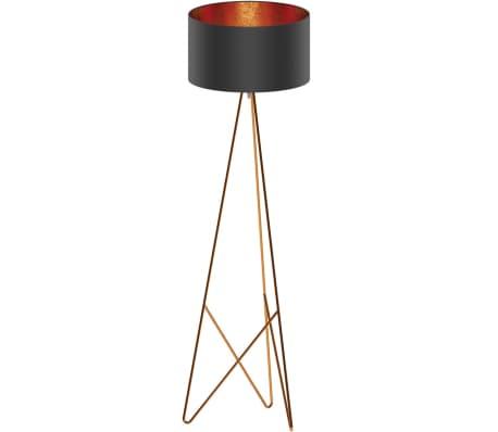 acheter eglo lampadaire camporale cuivre et noir 154 cm 39229 pas cher. Black Bedroom Furniture Sets. Home Design Ideas