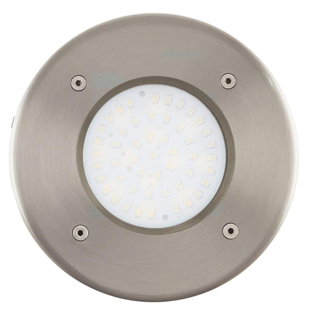 Afbeelding van EGLO LED Grondspot voor buiten Lamedo 2,5 W rond zilver 93482