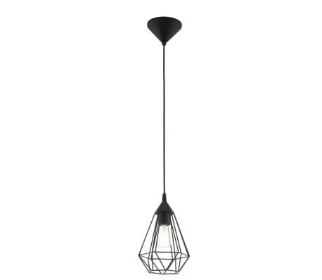 Lámpara colgante de techo, negra, EGLO Tarbes 94187