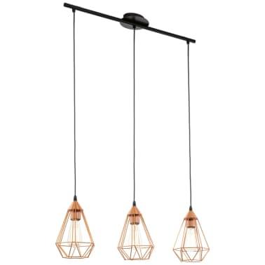 Lámpara colgante de techo, color cobre 79 cm, EGLO Tarbes 94195[1/4]
