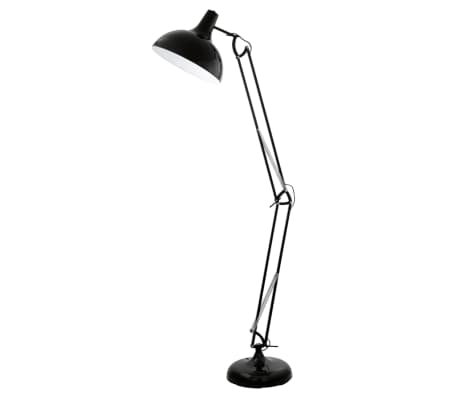 Floor lamp Borgillio black 94698