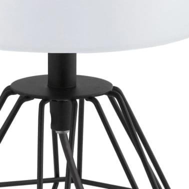 EGLO Bordslampa Carlton 2 svart och vit[2/5]