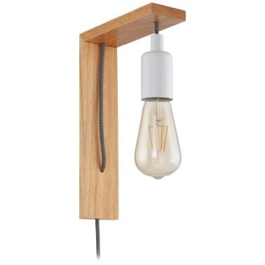 EGLO Lampe murale à LED Tocopilla Bois Blanc[1/5]