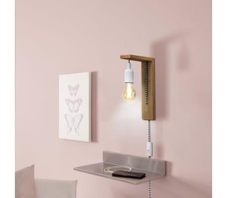 EGLO Lampe murale à LED Tocopilla Bois Blanc[2/5]