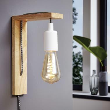 EGLO Lampe murale à LED Tocopilla Bois Blanc[3/5]