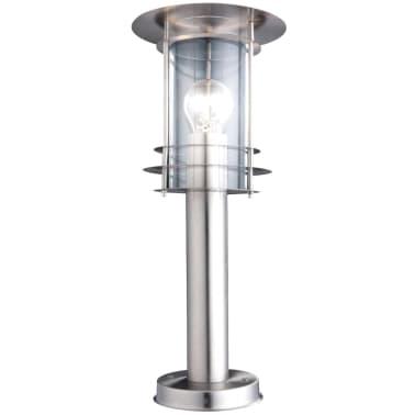 GLOBO Buiten vloerlamp MIAMI roestvrij staal zilverkleurig 3153[1/3]