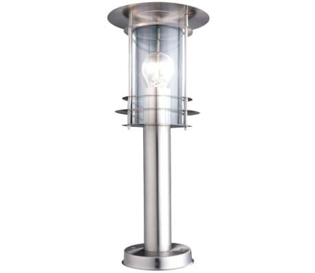 GLOBO Buiten vloerlamp MIAMI roestvrij staal zilverkleurig 3153[2/3]