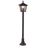 GLOBO Außen-Stehlampe ATLANTA Aluminium Schwarz 3128