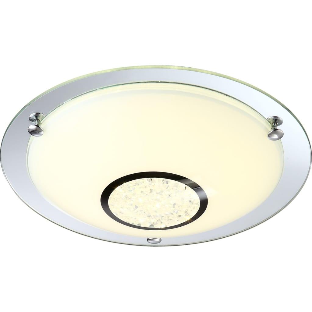 GLOBO LED-Deckenlampe AMADA Glas 48240