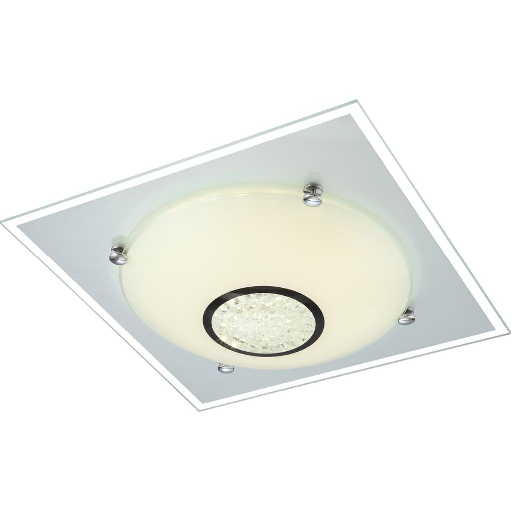 GLOBO LED-Deckenlampe AMADA Glas 48250