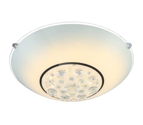 globo led deckenleuchte louise glas chrom 48175 12 g nstig kaufen. Black Bedroom Furniture Sets. Home Design Ideas