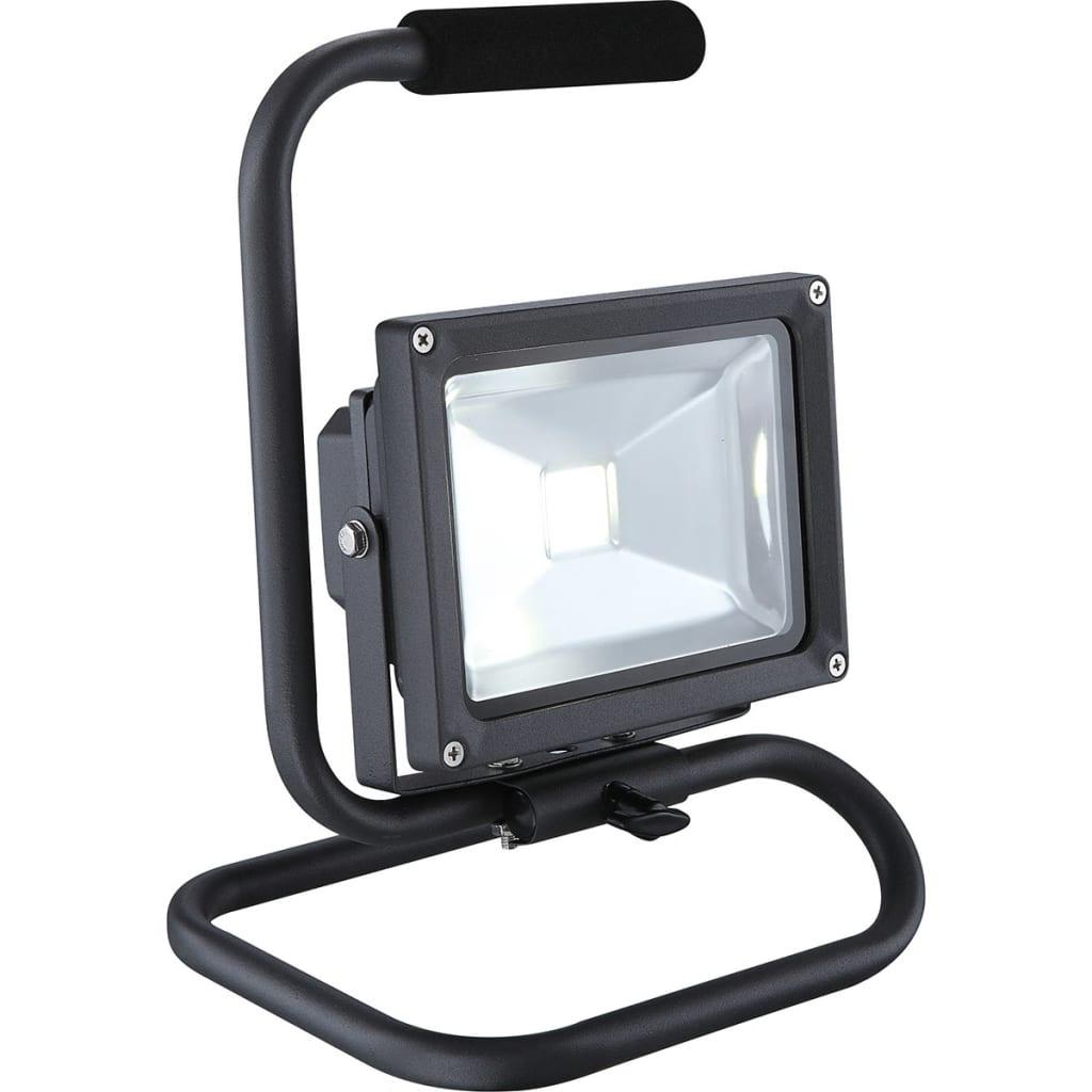 GLOBO LED-buitenlamp staand PROJECTEUR aluminium grijs 34115A