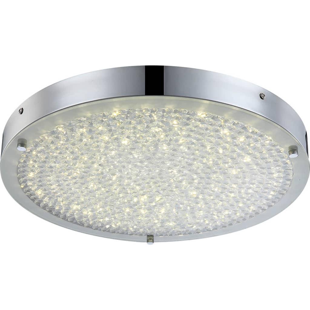 GLOBO LED-plafondlamp MAXIME glas 49213