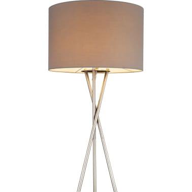 GLOBO Lámpara de pie GUSTAV níquel gris 24687N[2/4]