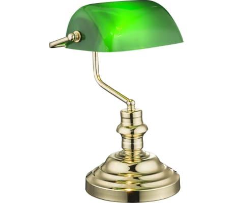 GLOBO Lámpara de mesa ANTIQUE latón verde 2491K