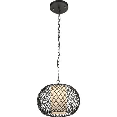 GLOBO Lámpara colgante STACY negra 40 cm 15270[1/3]