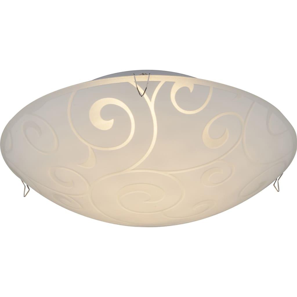 GLOBO LED Plafondlamp FERDI glas 48267-8
