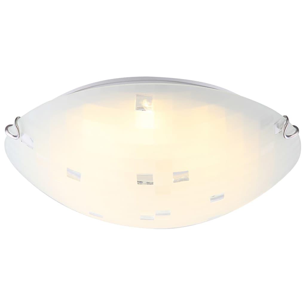 GLOBO LED-Deckenlampe JOY I Glas Weiß 4041463