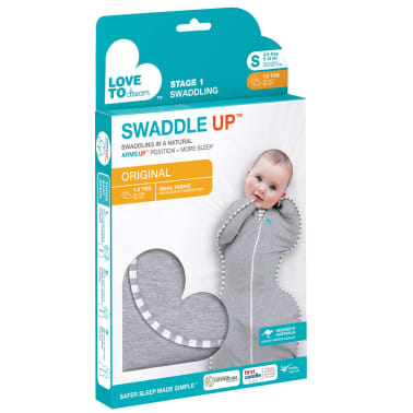 Love to Dream Couverture pour bébés Swaddle UP Original S Gris[13/14]