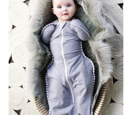 Love to Dream Couverture pour bébés Swaddle UP Original M Gris[10/13]