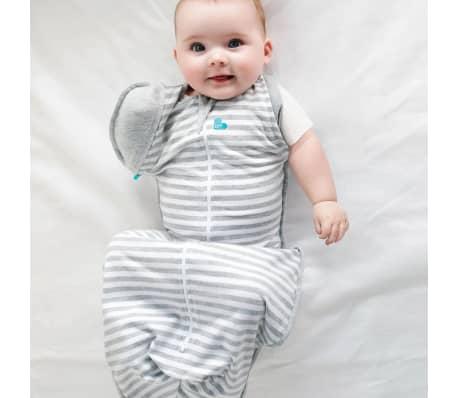 Love to Dream Couverture pour bébés Swaddle UP 50/50 M Gris[4/7]