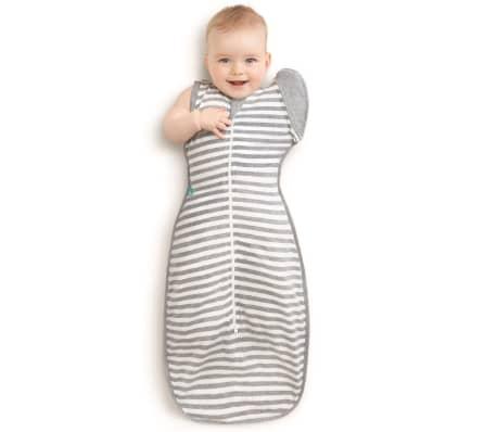 Love to Dream Vystyklas kūdikiui Swaddle UP 50/50, pilkas, L dydžio[3/7]