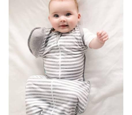 Love to Dream Vystyklas kūdikiui Swaddle UP 50/50, pilkas, L dydžio[4/7]