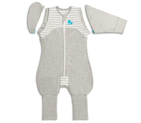 Love to Dream Babydoek Swaddle Up Transition Suit fase 2 L grijs
