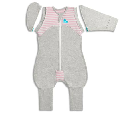 Love to Dream Babydoek Swaddle Up Transition Suit fase 2 L roze