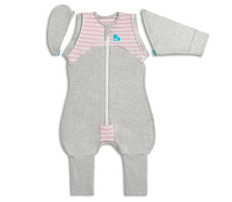 Love to Dream Babydoek Swaddle Up Transition Suit fase 2 XL roze