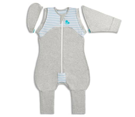 Love to Dream Babydoek Swaddle Up Transition Suit fase 2 M blauw