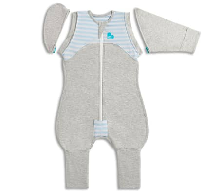 Love to Dream Babydoek Swaddle Up Transition Suit fase 2 XL blauw