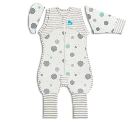 Love to Dream Babydoek Swaddle Up Transition Suit Lite fase 2 L wit
