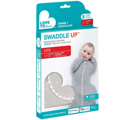 Love to Dream Couverture pour bébés Swaddle UP LITE S Gris[6/7]