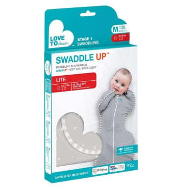Love to Dream Couverture pour bébés Swaddle UP LITE M Gris[6/7]
