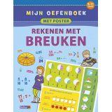 Deltas Mijn oefenboek met poster - Rekenen met breuken (9-11 j.)