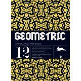 Livre de Papier Cadeau 25x34,5cm 16 Geometriques - Pepin